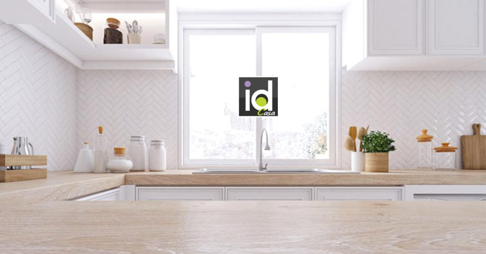 La cucina con finestra