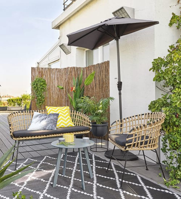 Arredare il patio con Maisons du Monde.
