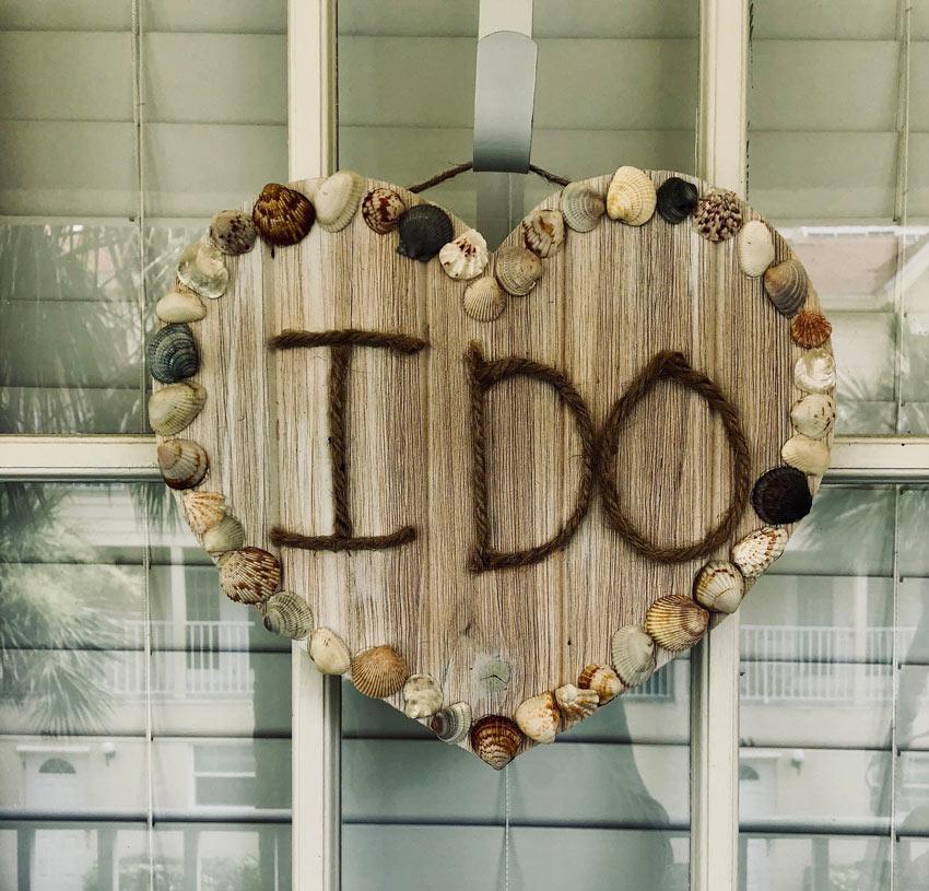 decorazioni estive fai da te con legno