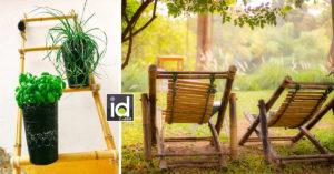 Il bambù per arredare casa e giardino
