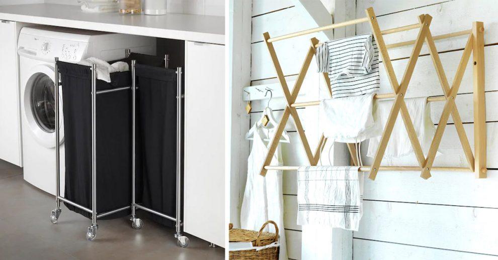 Arredare un angolo lavanderia con IKEA