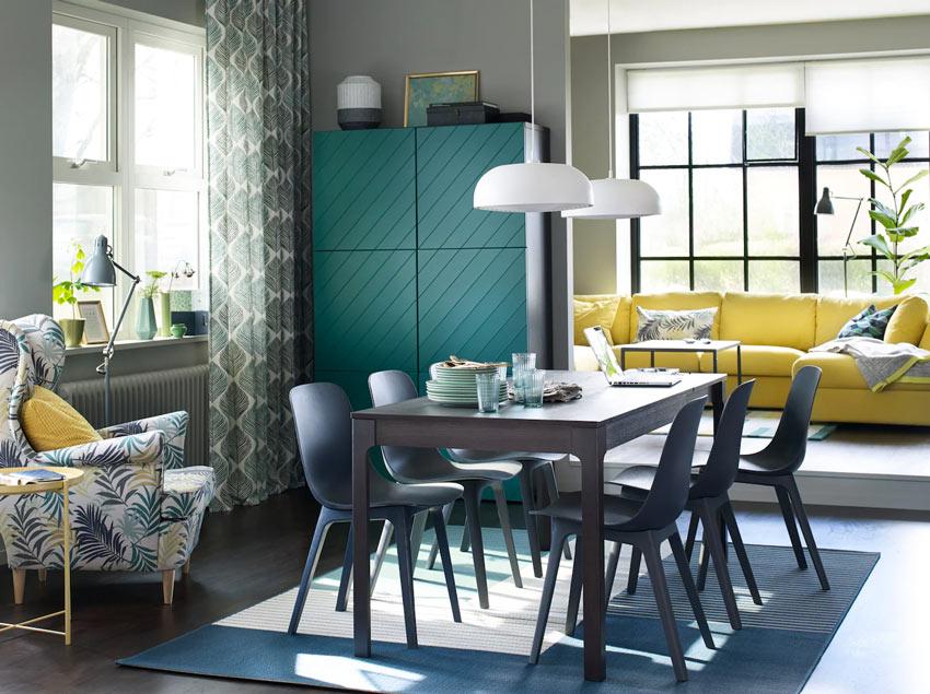 Sala da pranzo IKEA: 13 ispirazioni per arredare con stile