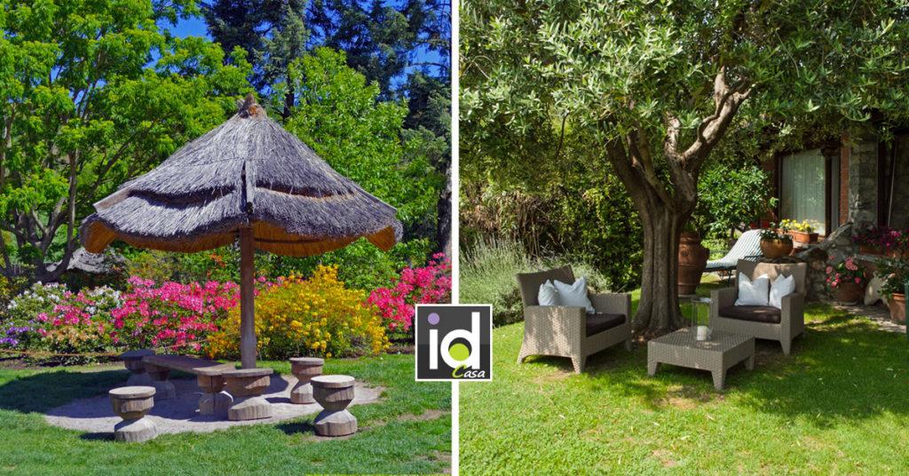 Idee per una zona d'ombra in giardino