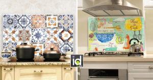 idee paraschizzi originali in cucina