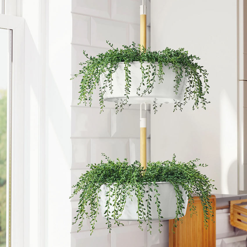 piante sospese artificiali IKEA