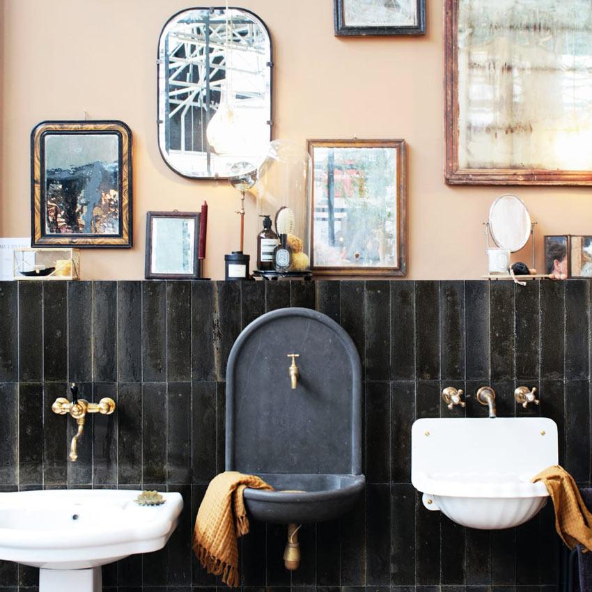 Piastrelle design per il bagno Leroy merlin