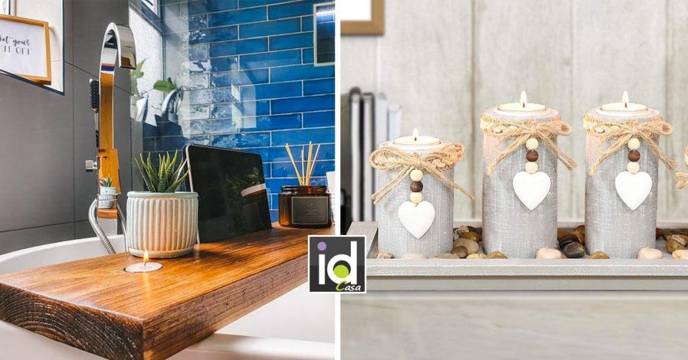 Accessori in legno per decorare casa