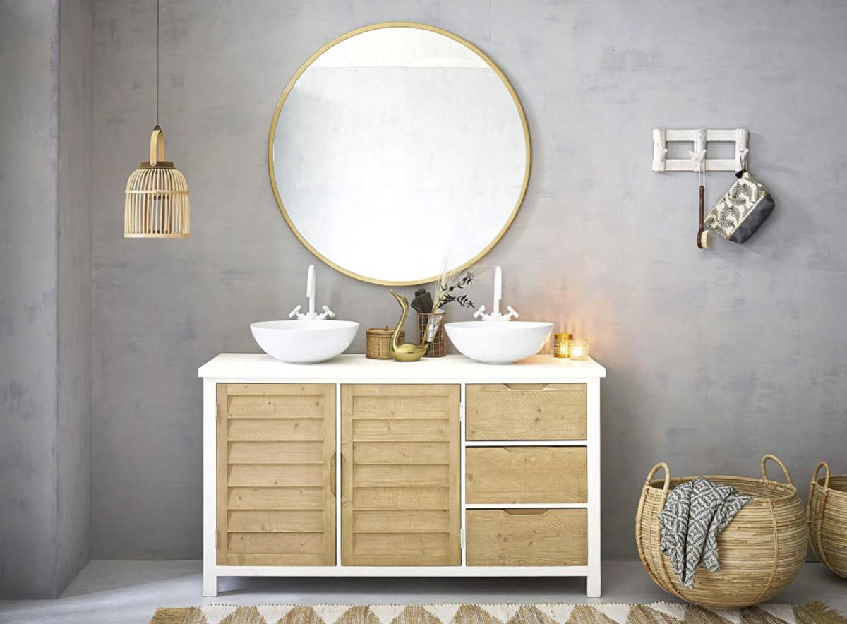 arredare il bagno in stile provenzale con Maisons du Monde