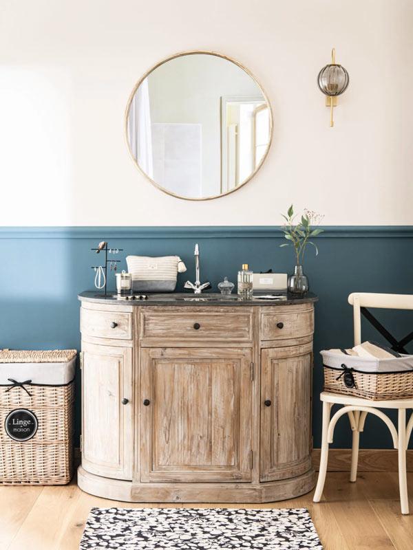 bagno in stile provenzale con Maisons du Monde