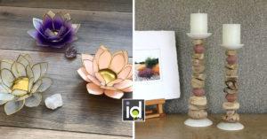 candelieri per decorare casa con originalità