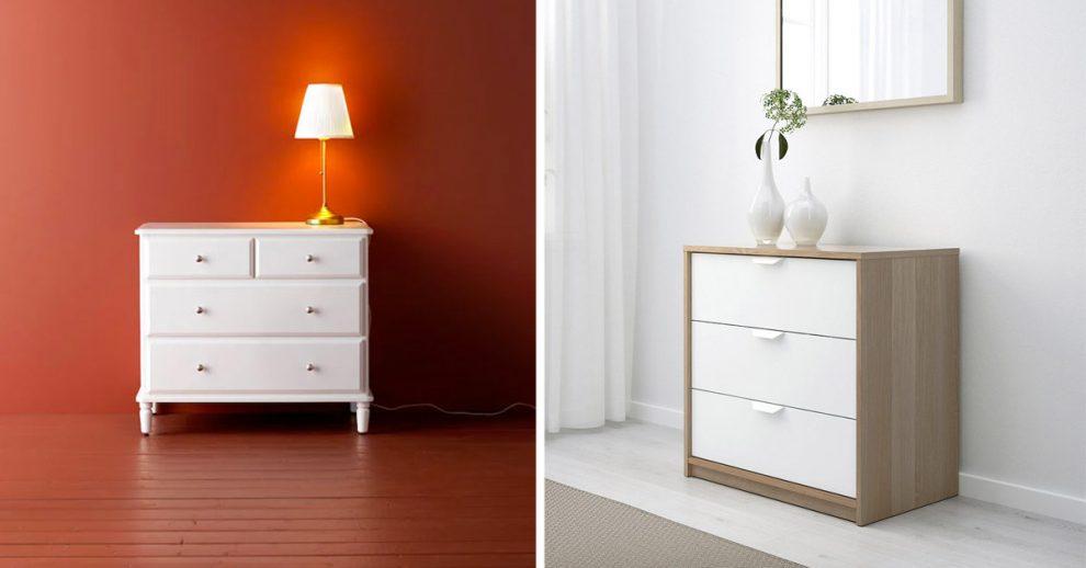 cassettiere IKEA per ordinare casa