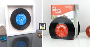 Decorazioni per la casa con vecchi dischi vinili