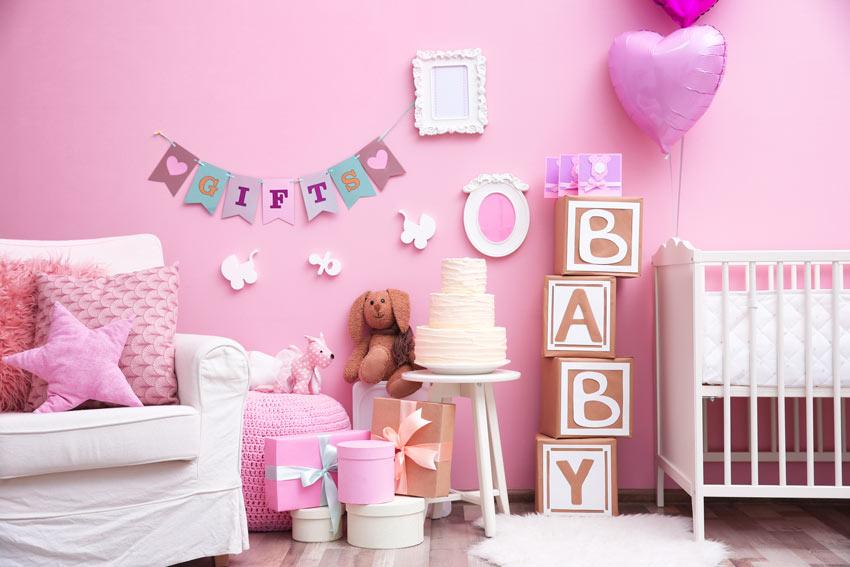 ghirlanda fai da te neonato