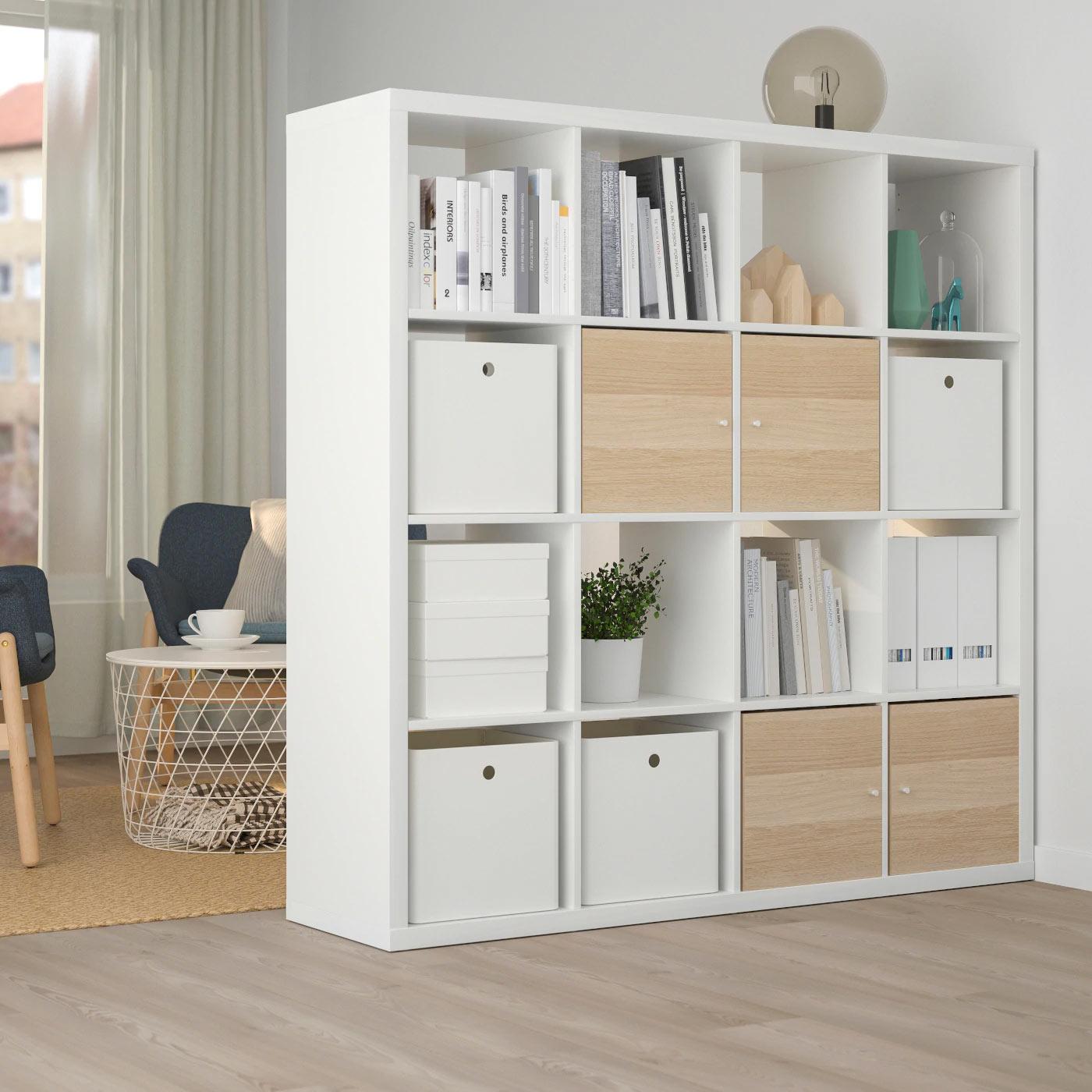 13 Soluzioni Di Arredo Con Lo Scaffale Ikea Kallax Ispiratevi
