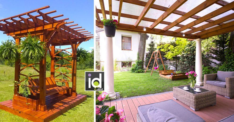 magnifiche pergole per godere del giardino