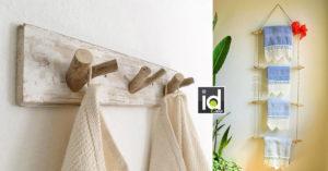 porta asciugamani creativi per un bagno di design
