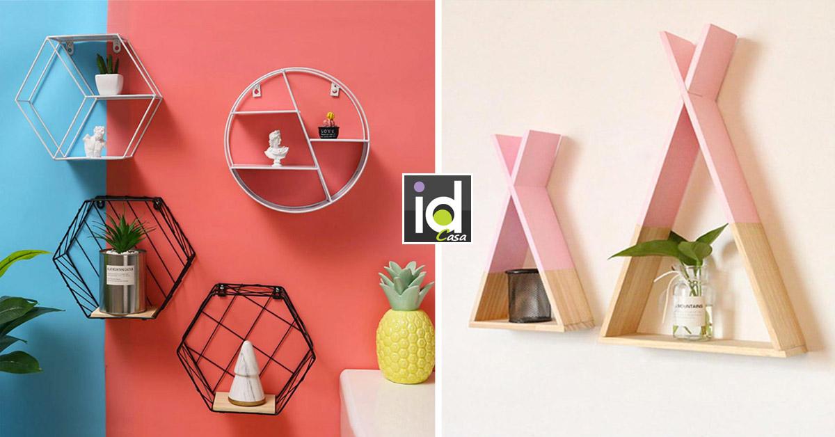 scaffali e mensole originali per decorare casa