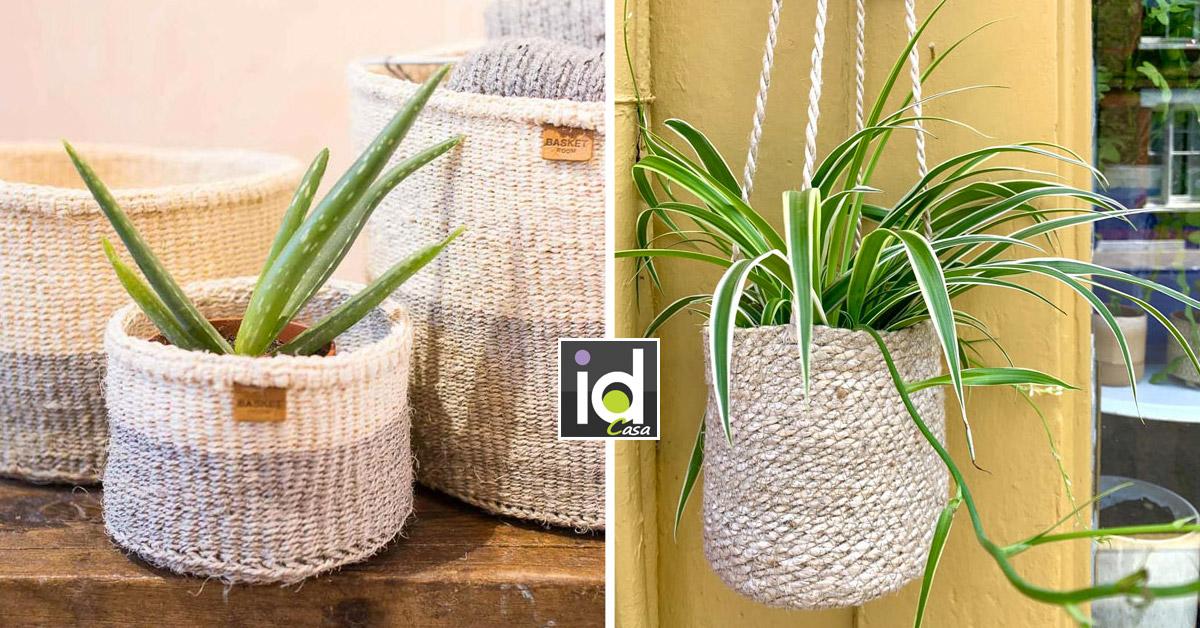 cestino coprivaso per pianta