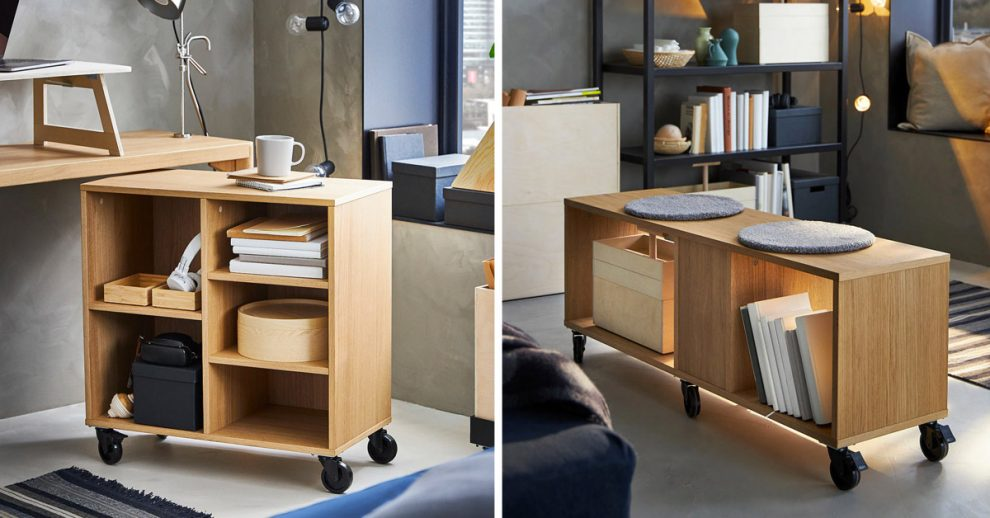 collezione RÅVAROR di IKEA per arredare un piccolo appartamento