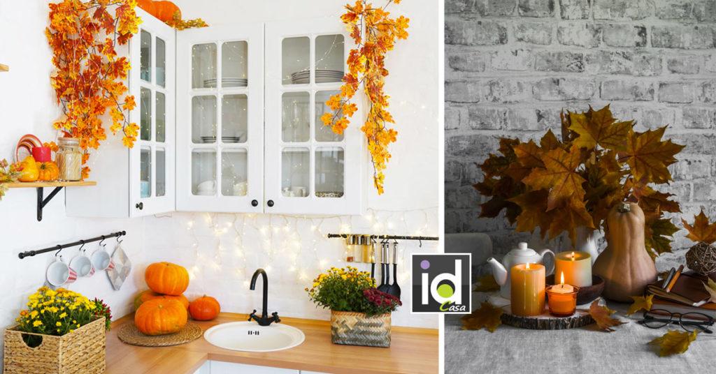 Come ricreare l'atmosfera autunnale in cucina