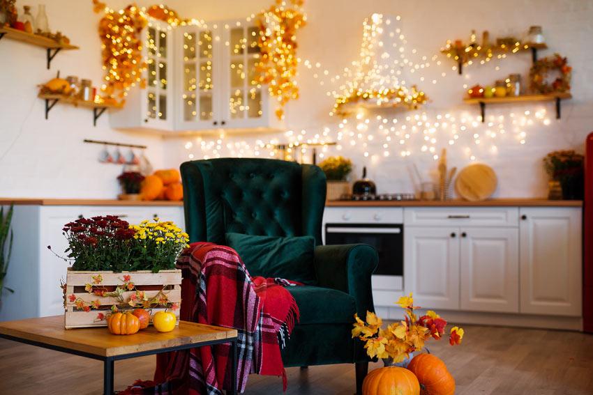 ricreare l'atmosfera autunnale in cucina