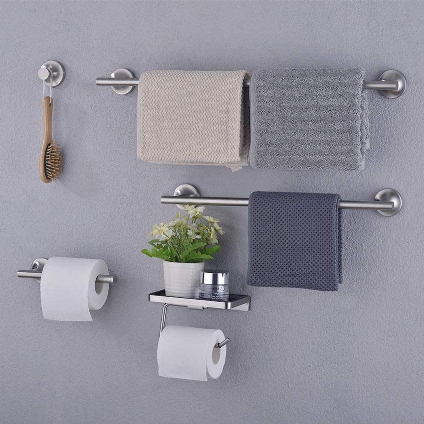 organizzare un piccolo bagno