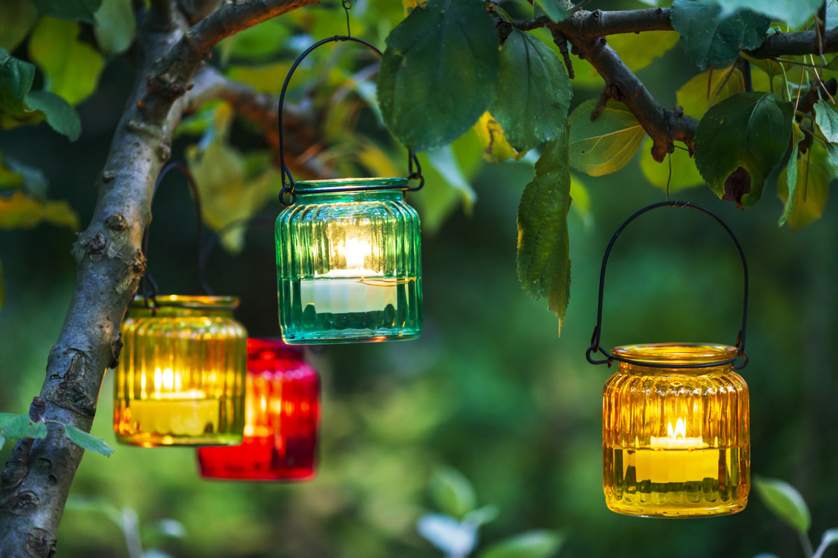 mood romantico con le lanterne