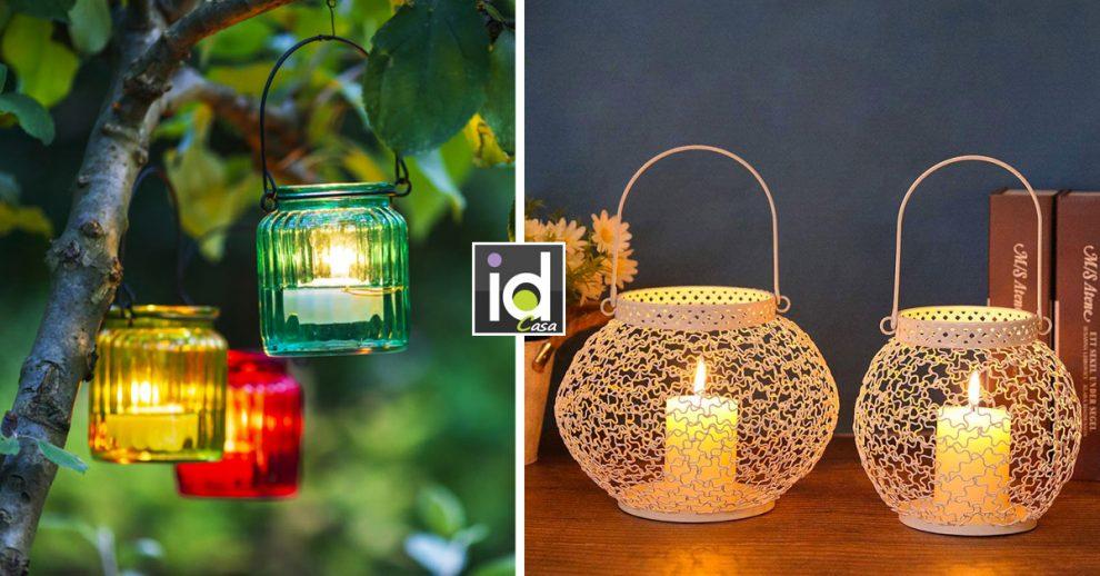creare un mood romantico con le lanterne