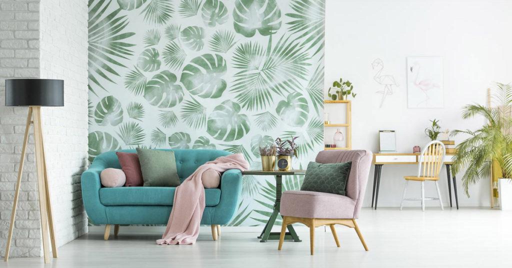 Consigli utili per decorare una parete con la carta da parati