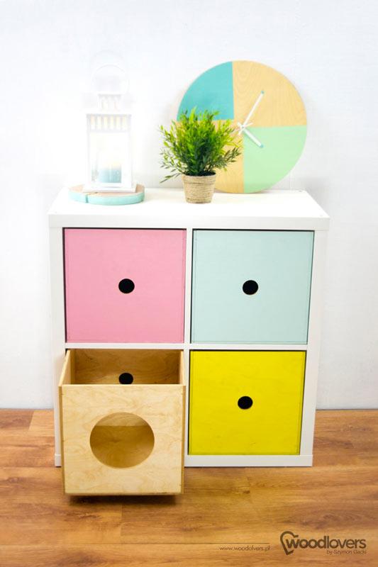 Personalizzare mobili della collezione Kallax di IKEA.