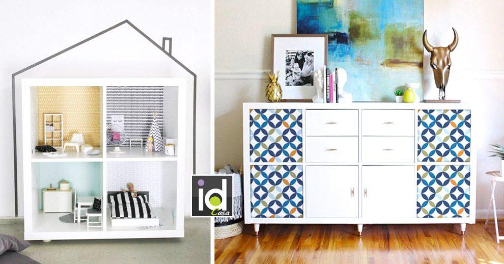 personalizzare i mobili della collezione Kallax di IKEA