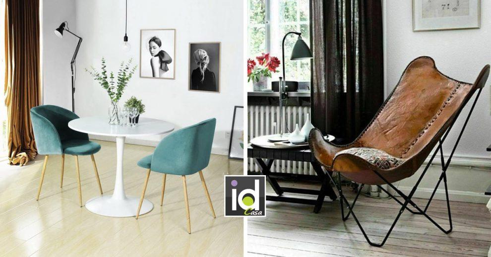 sedie vintage che arredano casa con gusto