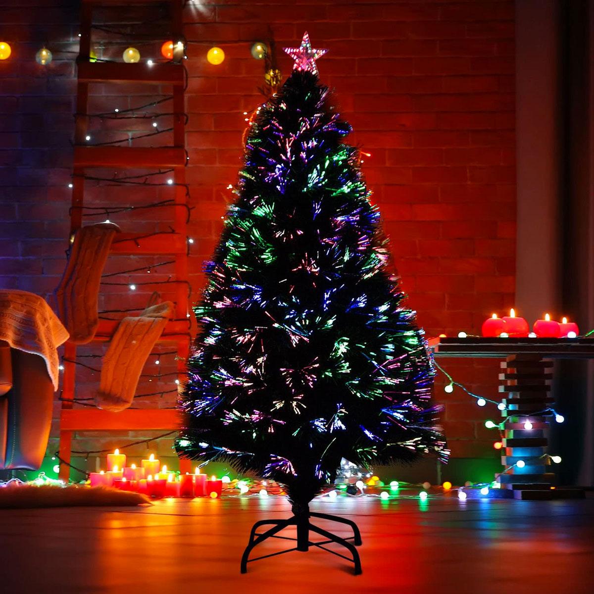 alberi di Natale con luci incorporate