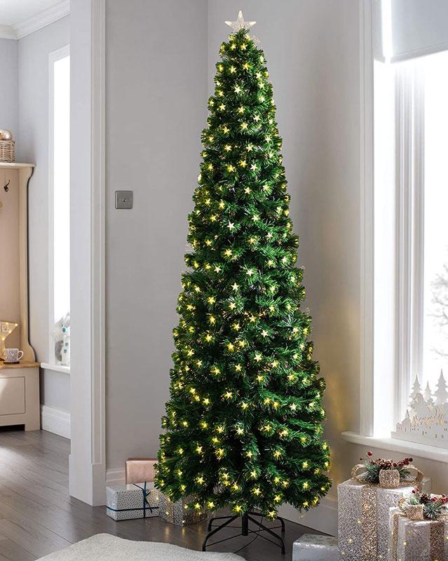 Albero Di Natale Con Le Foto.11 Alberi Con Luci Incorporate Per Un Natale Moderno