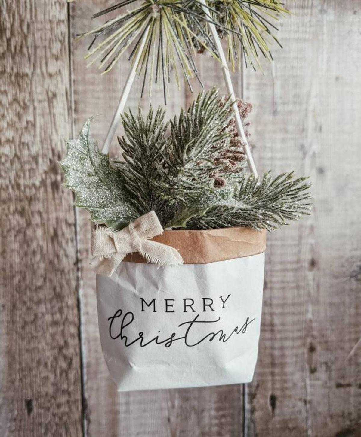 Cachepot originale e fai da te per decorare a Natale