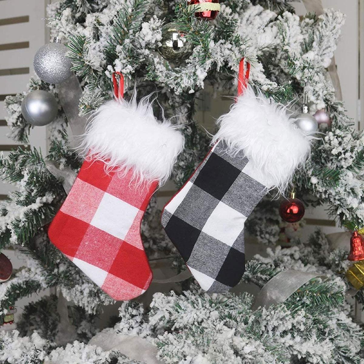 "Le belle calze natalizie ""fai da te"""