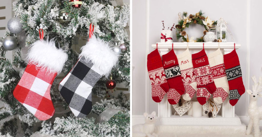 Belle calze natalizie fai da te