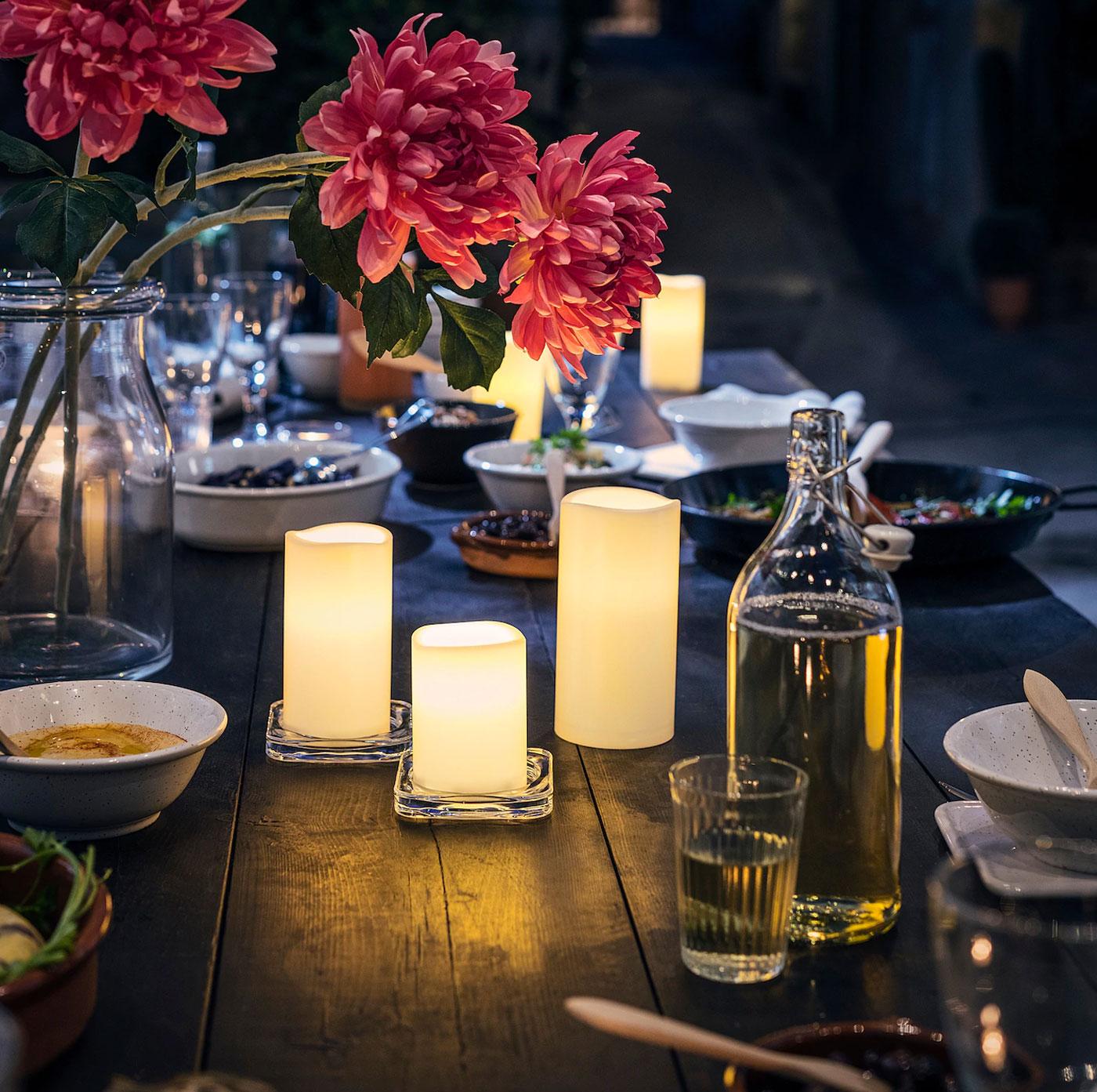 Candele e lanterne IKEA 2020.