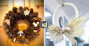 Una ghirlanda fai da te per decorare casa d'inverno