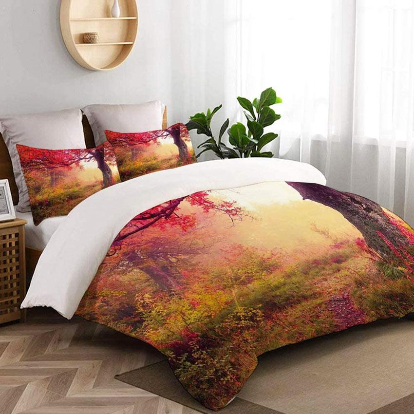 Come allestire il letto in autunno