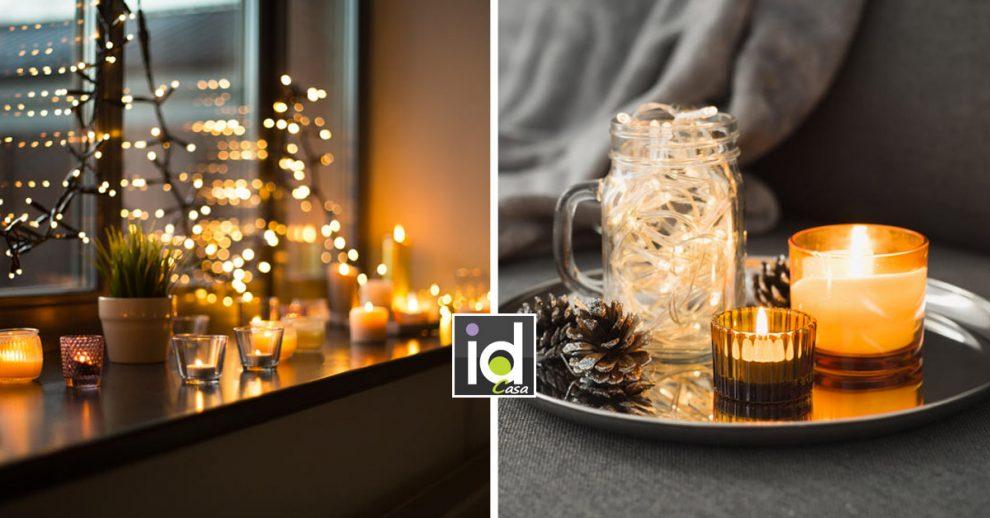 candele originali per portare un atmosfera calorosa in casa