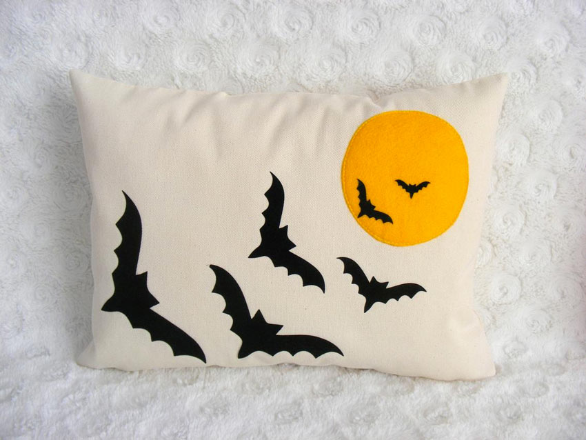 Cuscino decorativo da divano per Halloween.