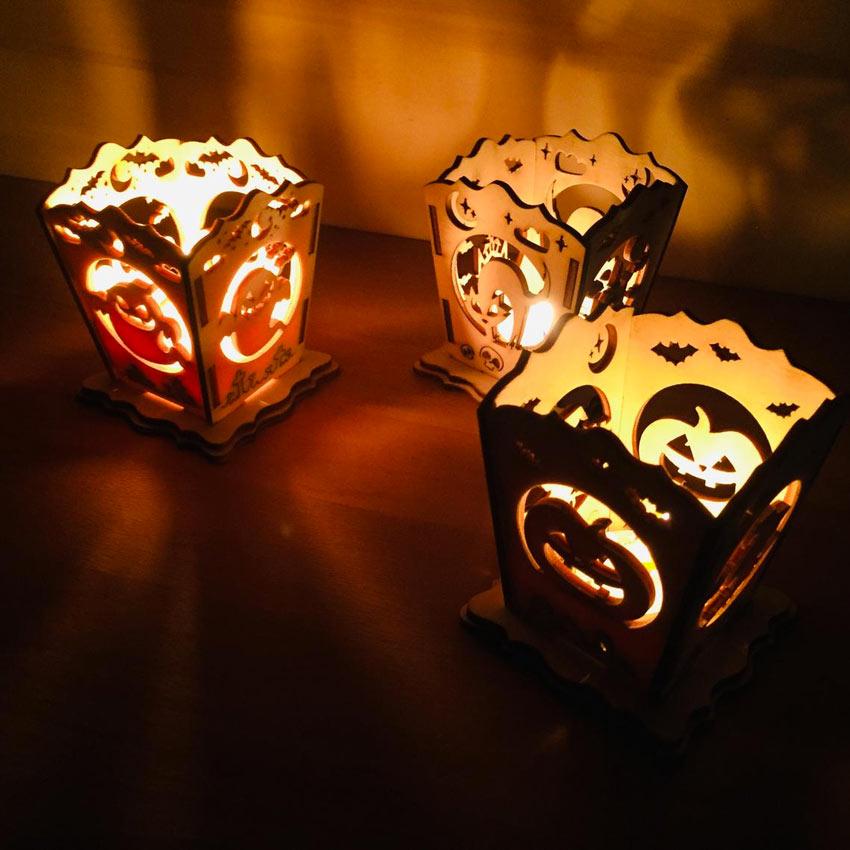 Lanterna economica per decorare Halloween.