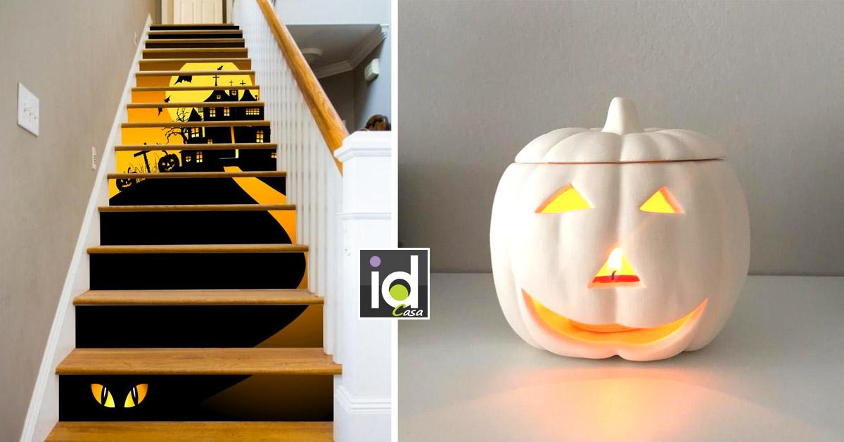 idee creative ed economiche per trasformare la tua casa per Halloween