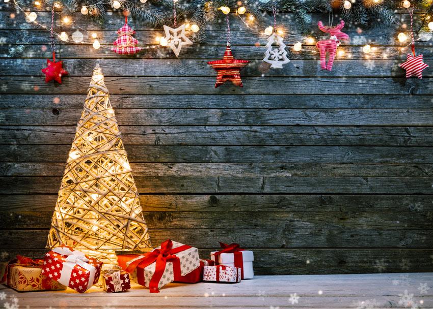 Luci di Natale originali per addobbare casa.