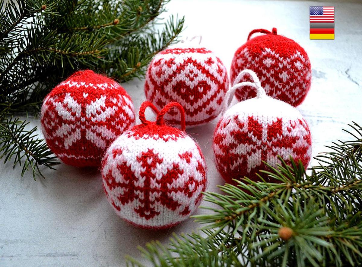 Immagini Palline Natalizie.Le Palline Di Natale Fatte A Mano Per Un Albero Magnifico 12 Ispirazioni