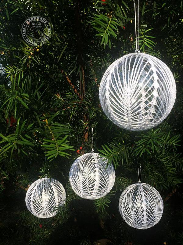 Famoso Le palline di Natale fatte a mano per un albero magnifico! 12 CM47