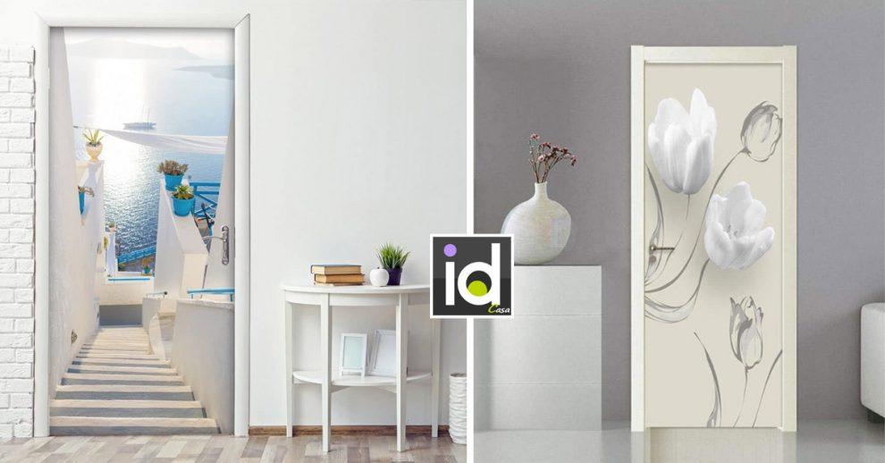 Un tocco di design in casa con delle porte originali