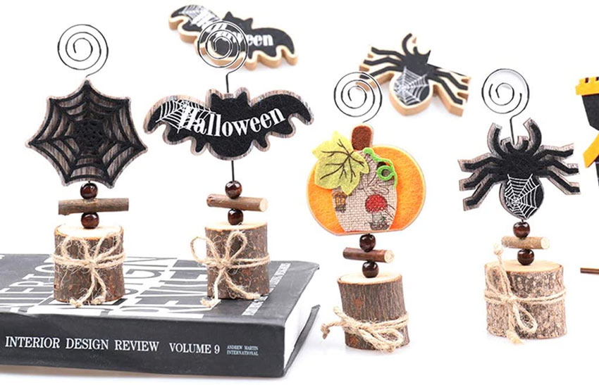 segnaposto di Halloween
