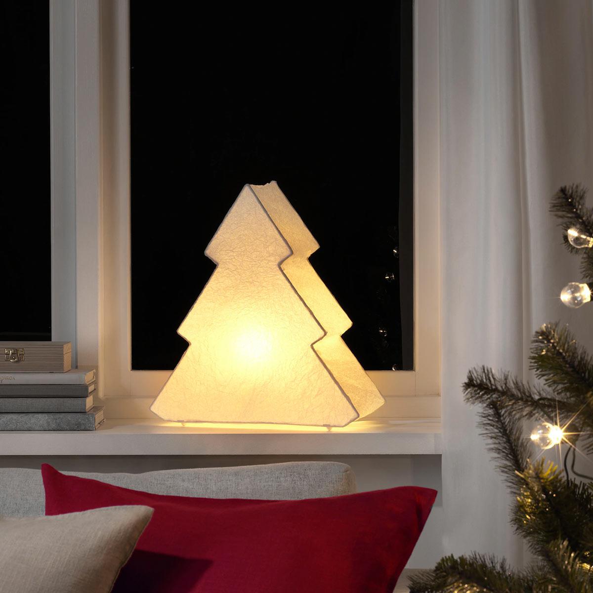 albero di Natale alternativo con IKEA
